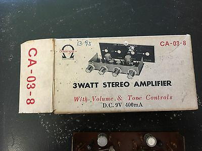 Transistor 3 Watt Stereo amplifier