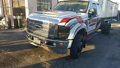 2008 ford f-550 cab and chassis