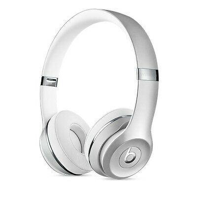 Beats by Dre Solo 3 Wireless Headphones - Special Edition Silver - New Sealed