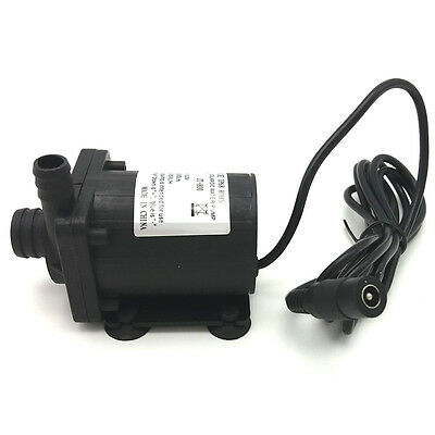 Solar DC Water Pump 12V 24V Brushless Mini Motor Pump 1000L/H Aquarium