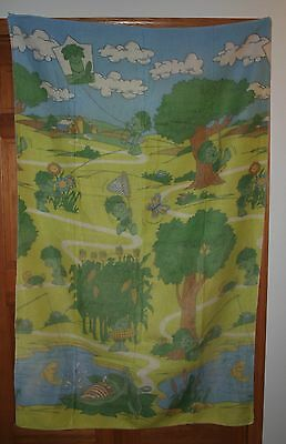 Little Sprout Jolly Green Giant Blanket Throw Soft Fleece Like Vintage