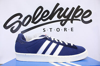 new style 7cebd 481b3 Adidas Campus 80s Bw Bedwin And The Heart Breakers Blue White S75674 ...