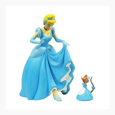 "Disney Mini Figure World Cinderella & Suzy 2.75""(7cm) Toy Desk Decor Gift Home"