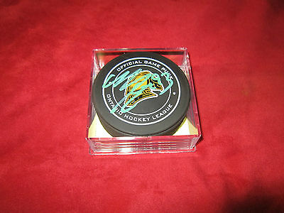 Mitch Marner Signed Knights Toronto Maple Leafs Puck Autographed Aj Sports