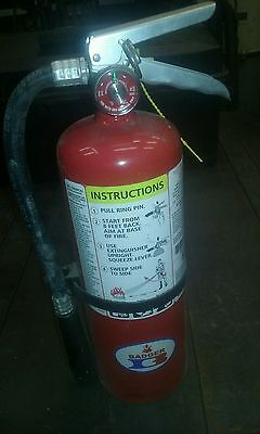 New 5#  5 lb ABC Badger Fire Extinguisher 5mb-6h