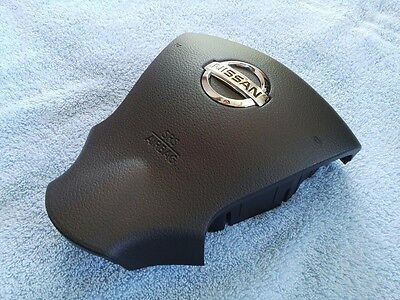 2013-2015 13 14 15 NISSAN SENTRA BLACK Driver steering AIR BAG AIRBAG COVER ONLY