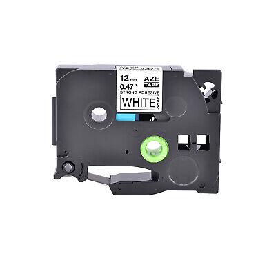 TZe-S231 TZ S231 Extra Strength Adhesive Black on White Label Tape For Brother