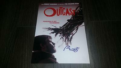 """Outcast Pp Signed 12""""x8"""" A4 Photo Poster Patrick Fugit"""
