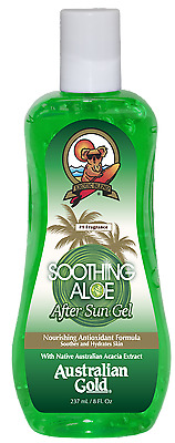 Australian Gold -  SOOTHING ALOE AFTER SUN GEL Dopo sole in  gel 237ml