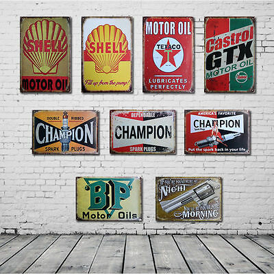 Vintage Retro Metal Tin Sign Poster Plaque Bar Pub Club Wall Home Decor 30x20cm