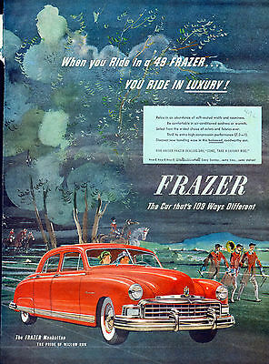 1949 Frazer Manhattan-car ad -(without Kaiser)-[-212
