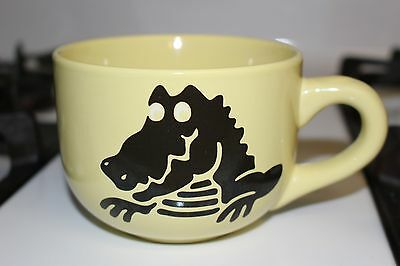 Fun Novelty Yellow Crocs Brand Oversized Coffee Soup Mug Cup Shoes Accessories