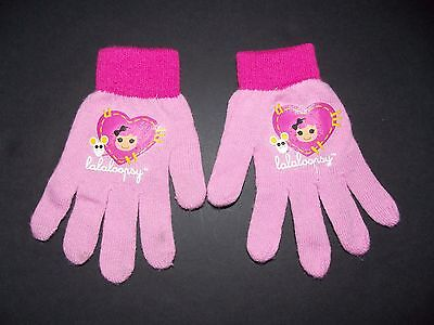 Lalaloopsy Girls Winter Gloves Pink One Size Fits Most