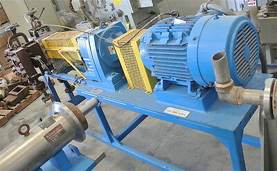 Maag Polymer Gear Pump Model EXTREX-90/90-AS Rated for 2000n Lb/Hr