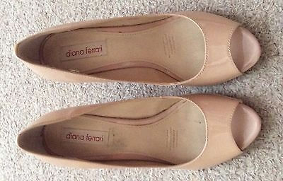 Ladies Diana Ferrari Wedge Size 7.5 - Only Worn Once As NEW