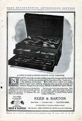 1906  Reed & Barton Sterling Silver Tableware ad --=148
