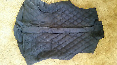 Ladies quilted riding vest Size 14