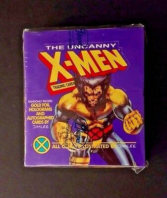FAST SHIPPING 1992 Impel UNCANNY X-MEN trading cards factory sealed box JIM LEE