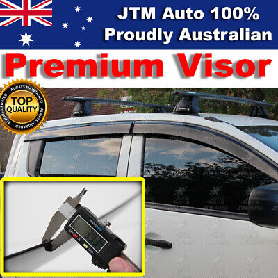 Weathershields Weather Visors Weather Shields For Mitsubishi Triton MQ 2015-2017