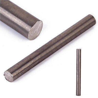 1PC Titanium Ti Titan Gr.2 GR2 Metal Rod Round Bar Diameter 10mm, Length 100mm