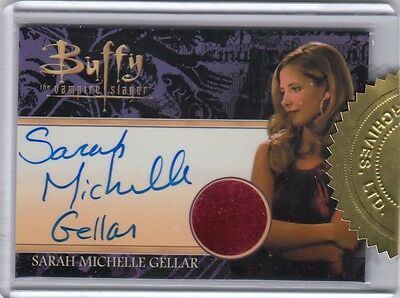 Buffy Ultimate Collector's Set Series 2 - Sarah Michelle Gellar Autograph Relic