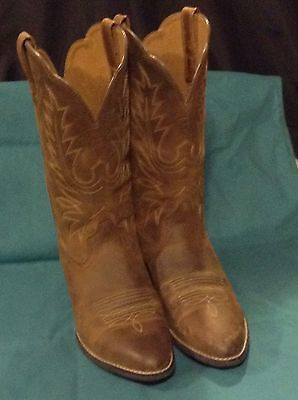 Womens Ariat Distressed Cowgirl Boot Size 8C