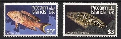 [Fs032]  Pitcairn Islands 1988 Fish Issue MNH