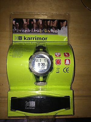 Karrimor Heart Rate Monitor With Wireless Chest Belt. rrp £39.99