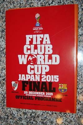 Fifa Club World Cup Japan 2015 - Official Programme - Final