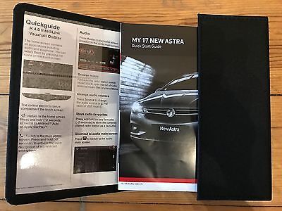 Vauxhall Astra Owners Manual HandBook+Service Genuine Wallet