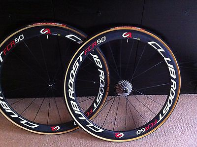 Club Roost Full Carbon Clincher Wheelset 700C