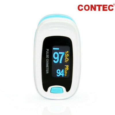 US Seller Finger Tip Pulse Oximeter Blood Oxygen Saturation SpO2 Monitor FDA CE