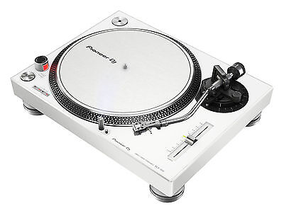 Pioneer PLX-500-W Turntable with powerful Direct drive (White)