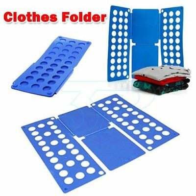 Clothes T-Shirt Folder Magic Folding Board Flip Fold Adult Laundry Organizer SG