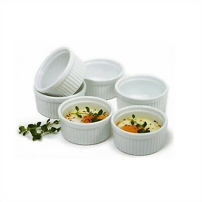 Norpro 258 3 Oz Porcelain Ramekins Set of 6 R