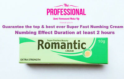 "Top Super Fast Numbing Cream ""longest duration for numb effect at least 2 hours"""