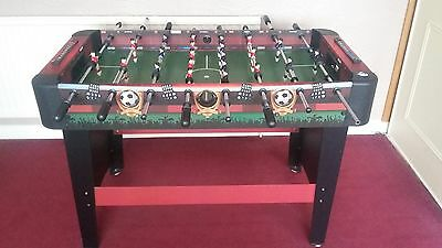 4ft, Football table, Hardly used.