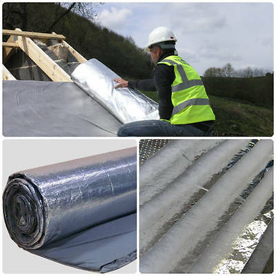 YBS BreatherQuilt Multi Foil Insulation | Breathable Roof Membrane | 10m x 1.2m