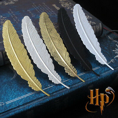 Harry Potter Feather  Metal Bookmark Feather Shape Bookmarks Gifts Harry Potter