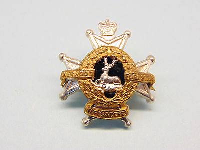 """The Notts And Derby Regiment Officer""""s Collar Badge,q/c."""