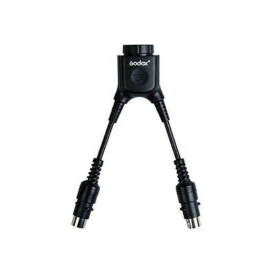 UK Godox DB-02 Cable Y adapter 2 to 1 For Power Pack PB960 AD360 AD180 AD360II