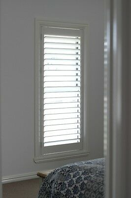 New Timber Plantation Shutters - Clotted Cream - 1 Panel