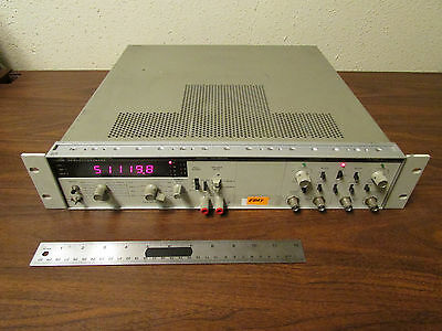 Agilent Keysight 5328A Universal Counter Channels A and B + Digital Voltmeter