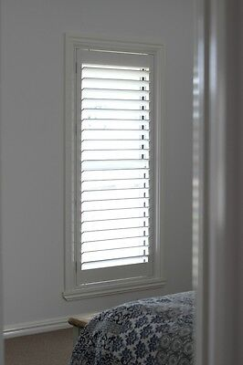 New Timber Plantation Shutters - Creamy - 1 Panel