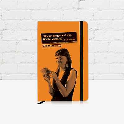 OFFICIAL Coronation Street Tracy Barlow Notebook - Yellow