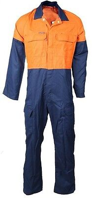 Hard Yakka Coveralls - Flame Resistant - 87 Short Size - Workwear - Overalls