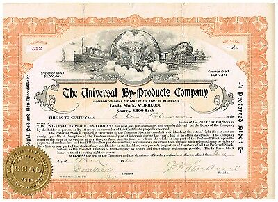 The Universal By-Products Co., 1920