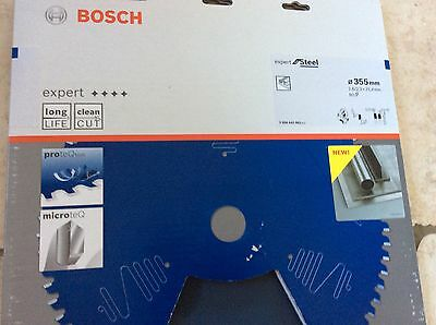 Bosch Expert Metal Cutting  Fits Evolution 355X25,4X2,6MM Z80 NEW