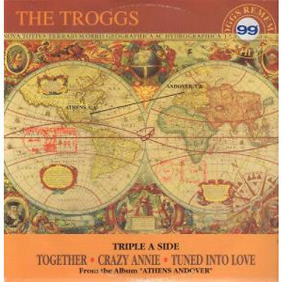 """TROGGS Together 12"""" VINYL 3 Track B/w Crazy Annie And Tuned Into Love (esst201"""