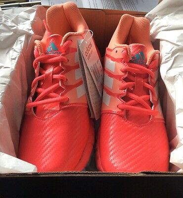 adidas Junior Pink Hockey shoes size 5